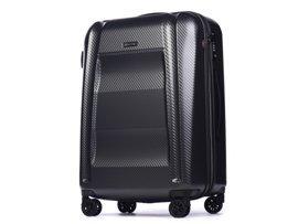Duża walizka PUCCINI PC017 A szary antracyt