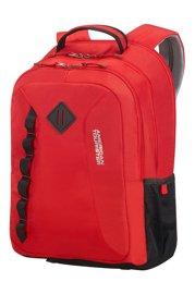 Plecak AMERICAN TOURISTER 24G*00005 czerwony + ochraniacz